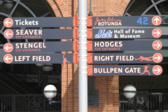 Citi Field Directional Signs