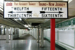 PATCO Old Fashioned Sign