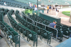 Seats Behind Home Plate