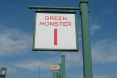 Green Monster Section 1 Sign