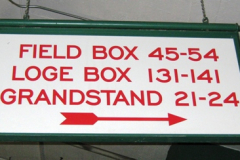 Seating Sign 4
