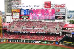 Bleachers Scoreboard
