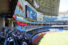 200 Outfield Scoreboard View