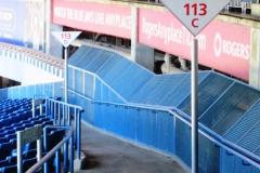 Field Level Outfield Walkway