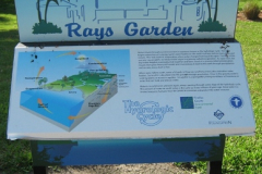 Rays Garden Sign