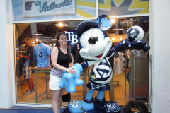 Suzanne With Mickey 2