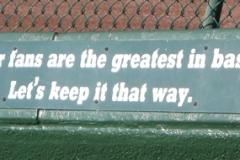 Bleacher Fans Best In Baseball