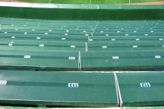 Bleachers Seats Butt At Foot