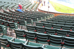Field Level Seats Cup Holders
