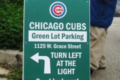 Grace Street Lot Sign