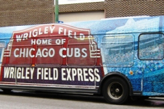Pace Wrigley Express Bus