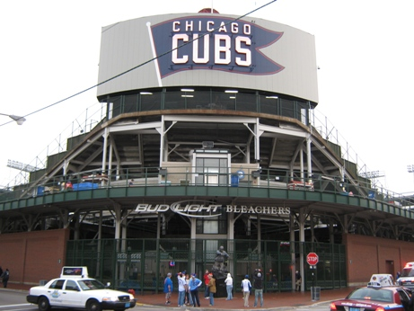 Chicago cubs ballpark