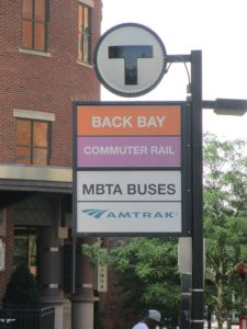 best way to get to fenway park back bay T station