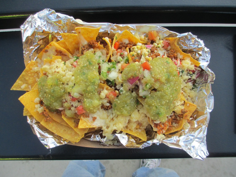 ballpark food barrio nachos