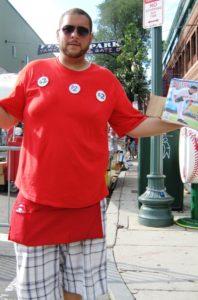 Fenway Park tips Boston baseball program