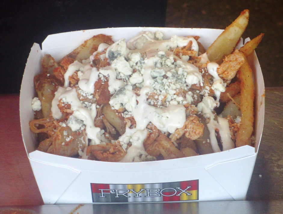 great american ball park food fry box