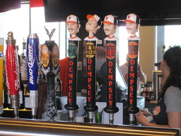 dempseys camden yards beer