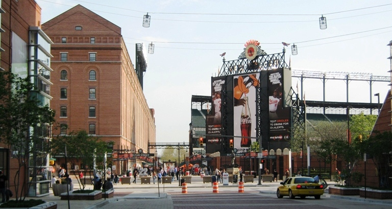 how to get to Camden Yards
