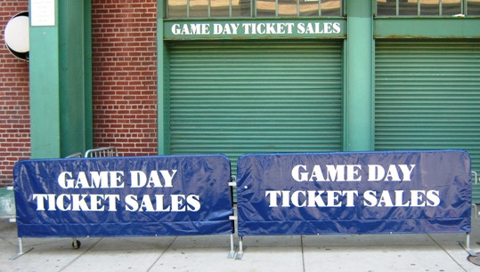 visiting fenway park game day tickets