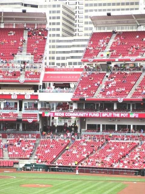 great american ball park seating gap right field