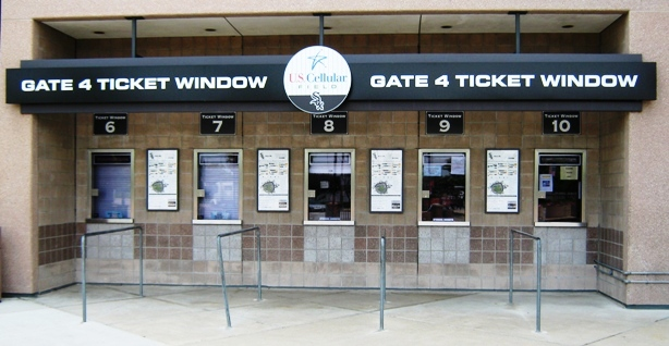 visiting guaranteed rate field ticket window
