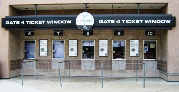 visiting guaranteed rate field ticket window