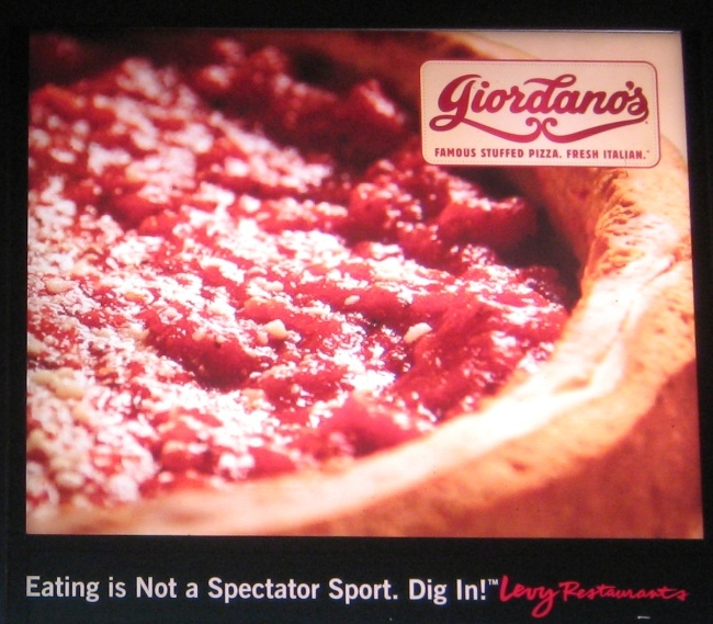 wrigley field food giordanos pizza