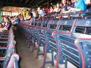 fenway park seating grandstand