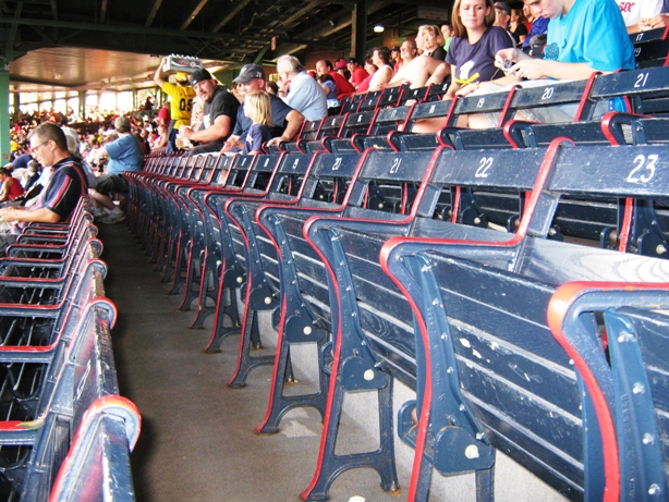 visiting fenway park grandstand seating
