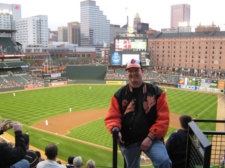Camden Yards Seating upper level