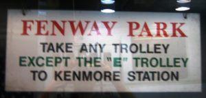 best way to get to fenway park green line train