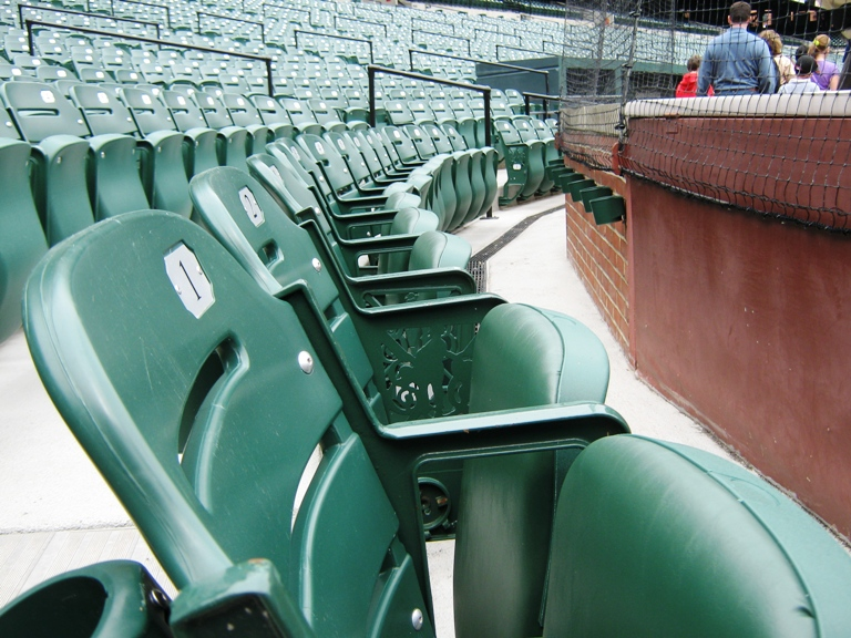 visiting camden yards cushioned seats