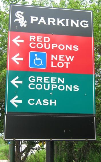 visiting guaranteed rate field parking