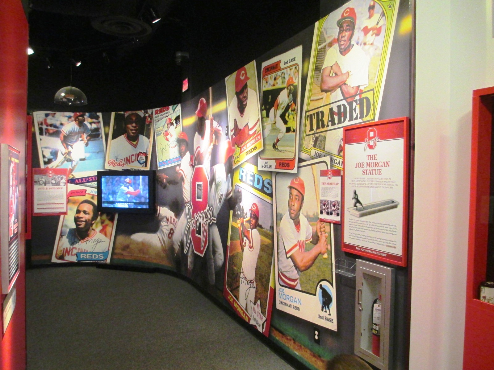 visiting Great American Reds Hall