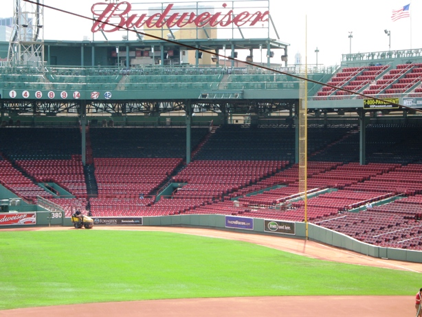 Fenway park seating right field box