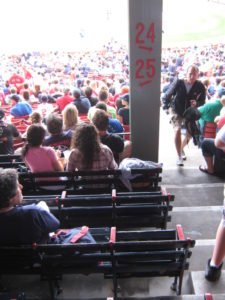 Avoid obstructed views at fenway park grandstand