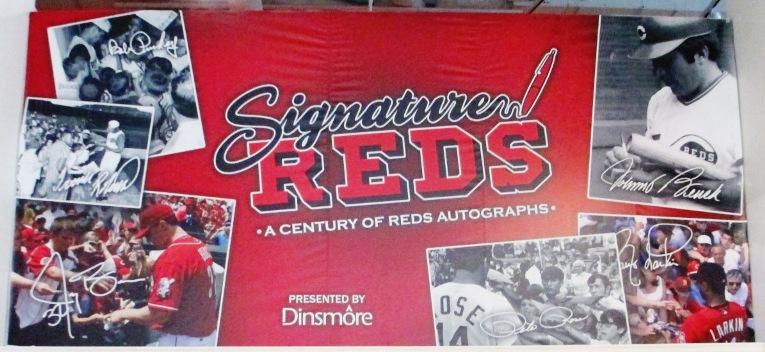 first professional baseball team signature reds