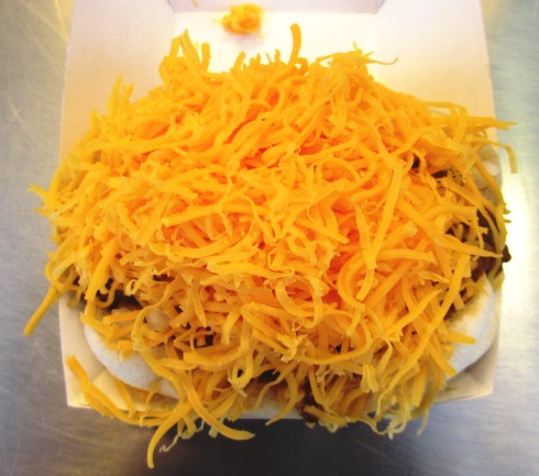 Great American Ball Park food skyline coney