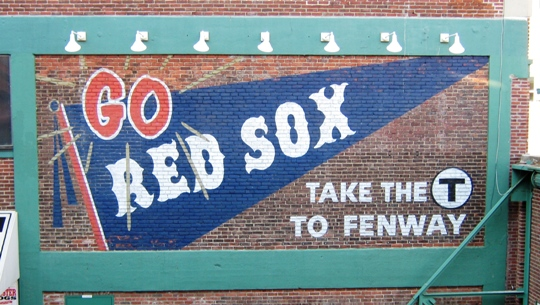visiting fenway park take the t