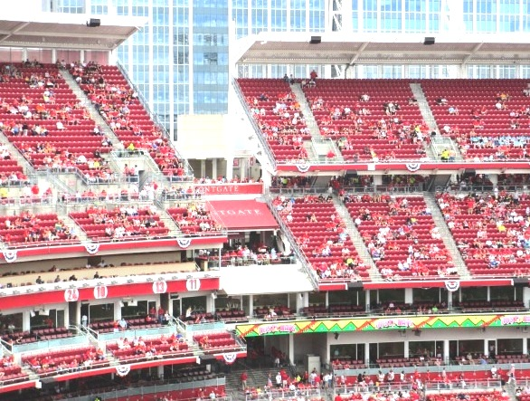 great american ball park seating gap view level