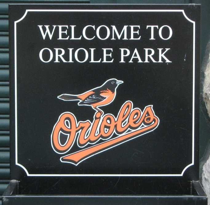 visiting camden yards welcome