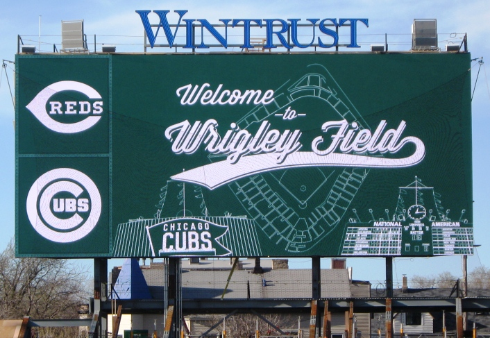 visiting wrigley field welcome