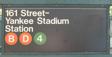 get to yankee stadium 4 train