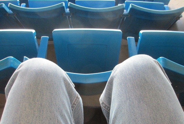 rogers centre seating leg room