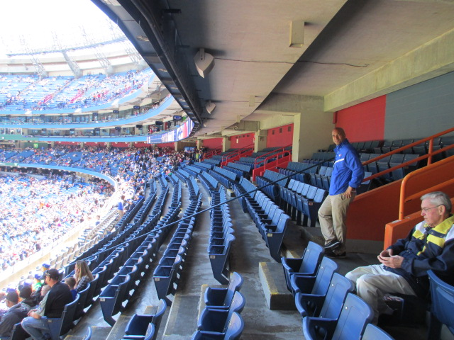 visiting rogers centre 200 level