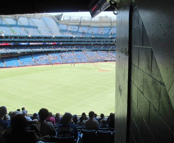baseball seating rogers centre obstructed view