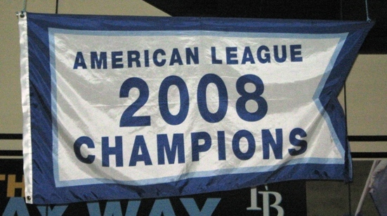 props for tropicana field 2008 champions