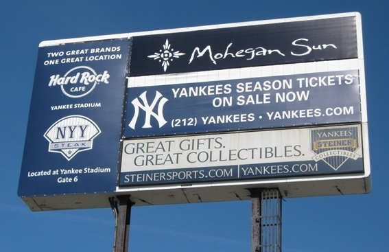 how to save money at the ballpark yankee sign