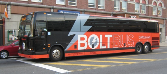 new yankee stadium bolt bus philly