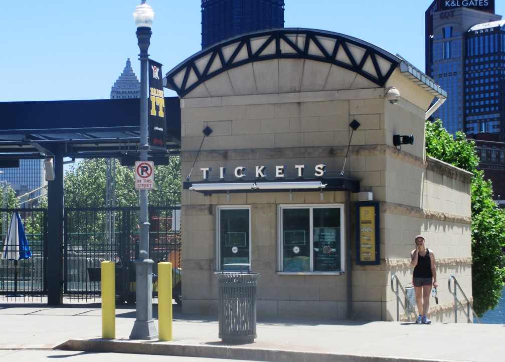 visiting pnc park box office